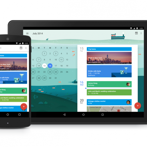 Download and install latest Google Calender 5.0 APK (Material Design)