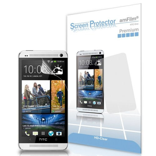 Pack of 3 HTC One screen protectors, $5.95