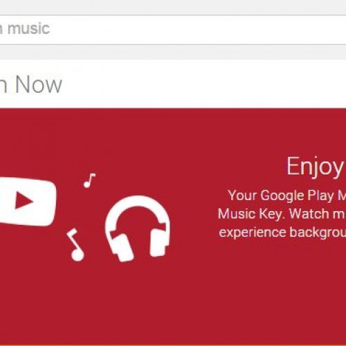 YouTube Music Key now available for some Google Play Music All Access users