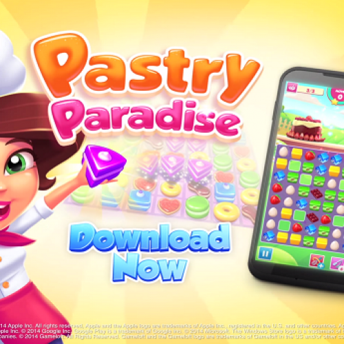 Fresh out of the oven comes Pastry Paradise, Gameloft's newest addition to the Play Store.