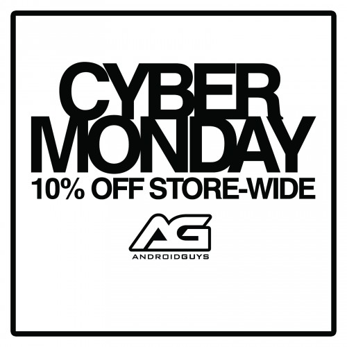Cyber Monday from AndroidGuys (10% off everything)