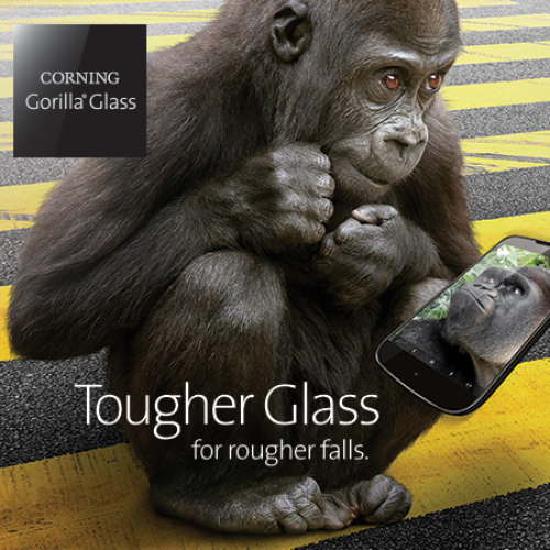 Corning announces stronger Gorilla Glass 4