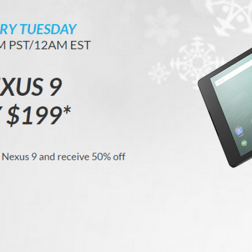 HTC kicks off Hot Deals program with half price Nexus 9 (16GB for $199) [Update: Andddd they're gone]