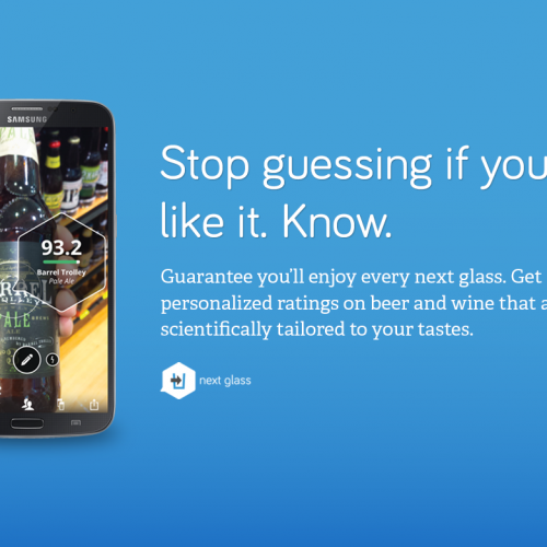Android app NextGlass uses science to determine what kind of wine you'll love next