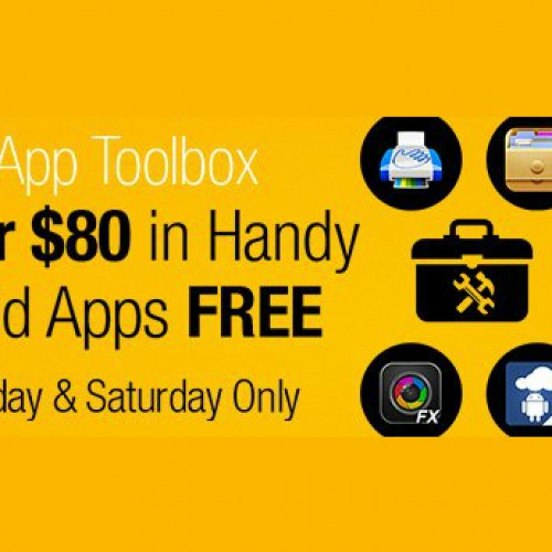 Amazon offering $80 in free apps this weekend only