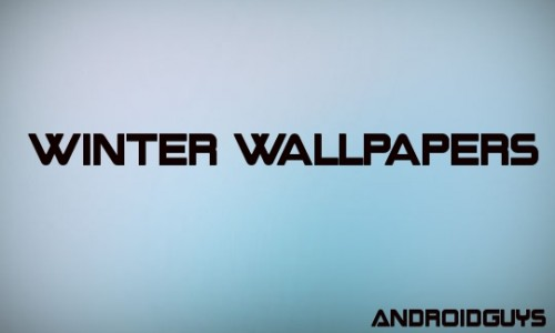Get in the spirit with these winter wallpapers for your Android
