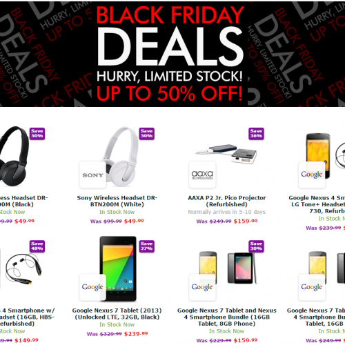 Expansys gets Black Friday week going with sales up to 50% off (Updated)