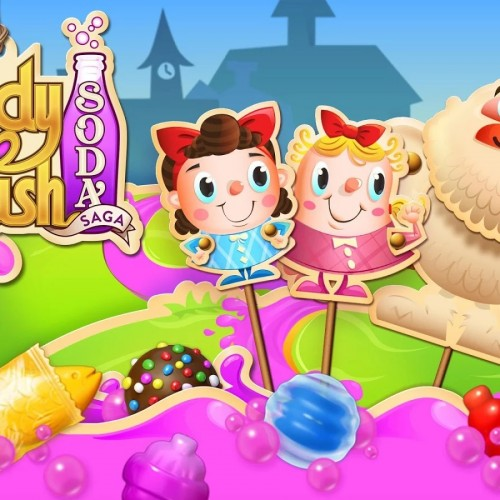 King spins off wildly popular game with Candy Crush Soda Saga