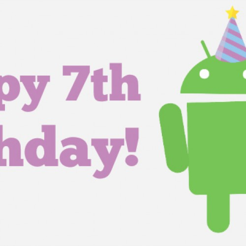 Happy 7th birthday to Android… and AndroidGuys!