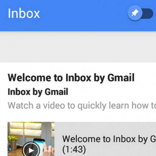 Download and Install Inbox version 1.1 APK (Material Design)