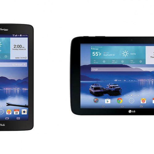 Verizon offers up LG G Pad 7.0 LTE and G Pad 10.1 LTE