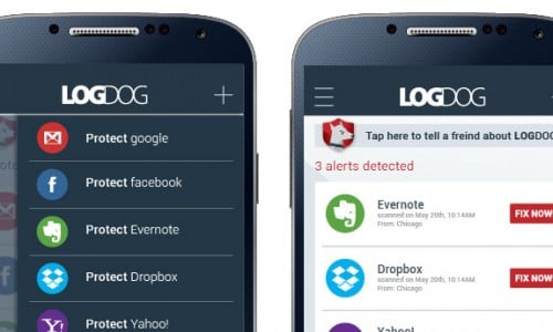LogDog app review: secure your online accounts