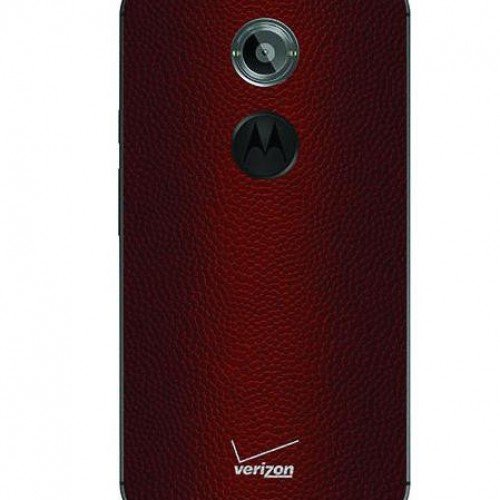 Moto X now available with football leather backing, but for Verizon only
