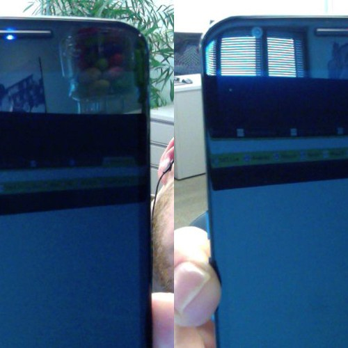 Nexus 6 ships with hidden RGB LED under top speaker grill