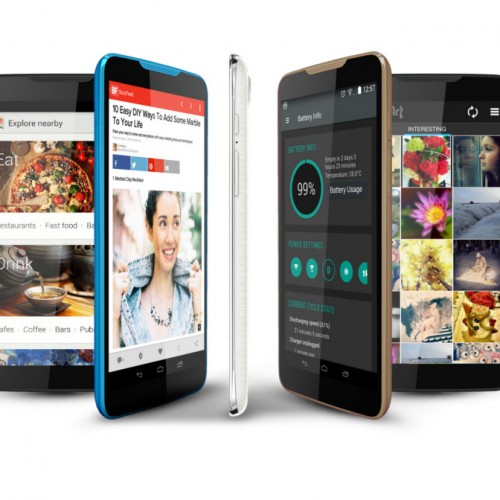 Blu Studio 7.0 is one of the world's first 7 inch smartphones