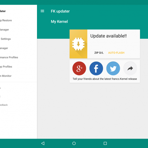 Franco Kernel makes its way to the Nexus 6