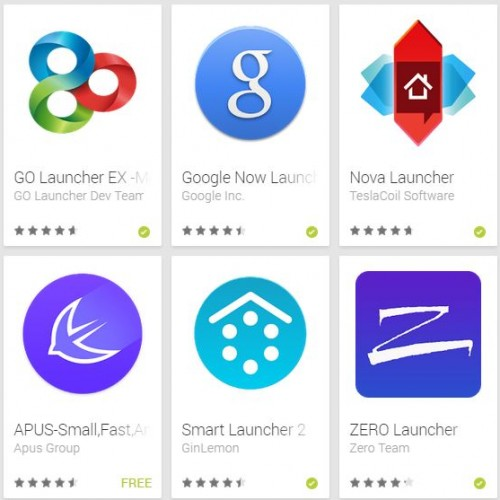 5 Homescreen Launchers You Should Try