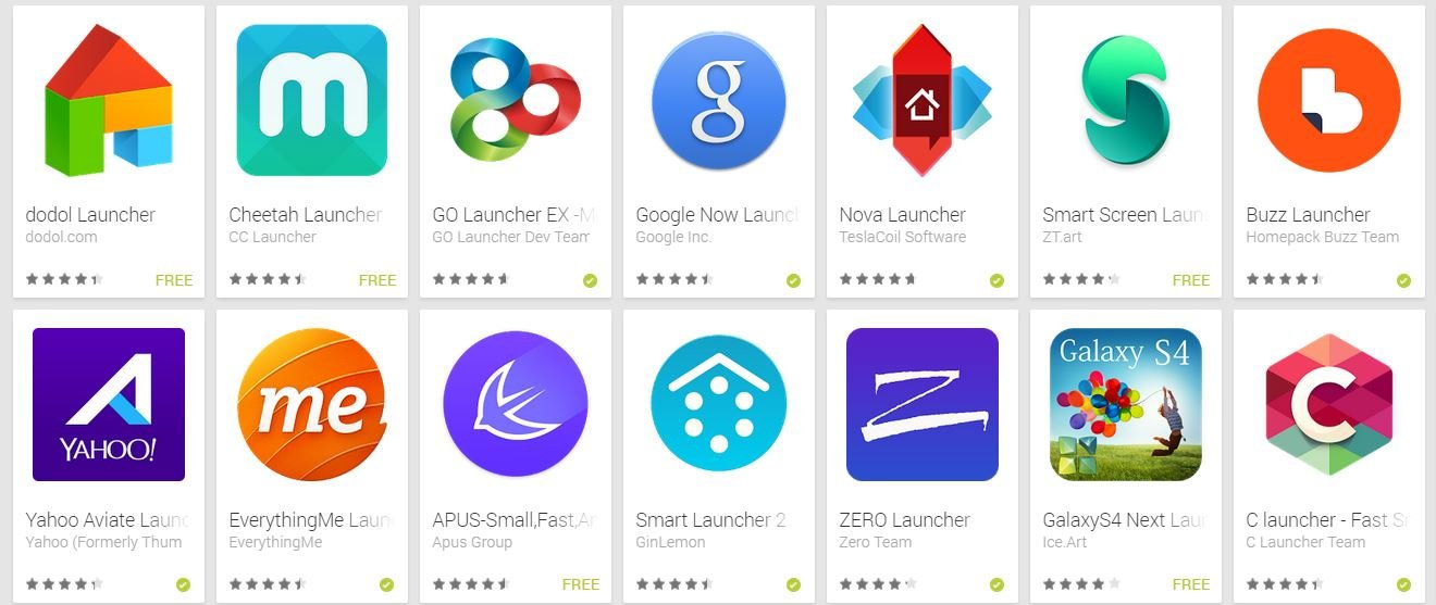 5 Homescreen Launchers You Should Try - AIVAnet