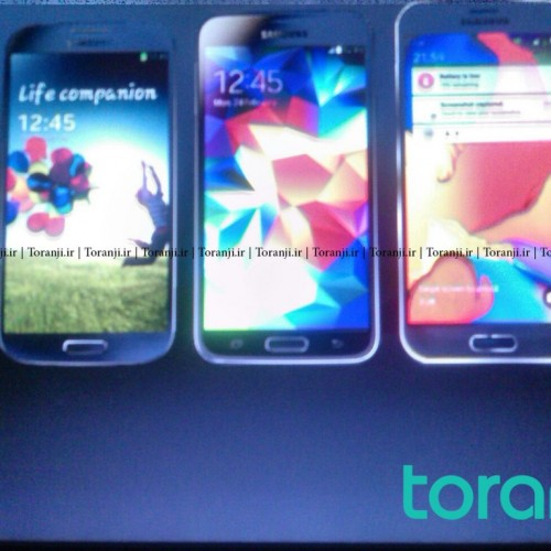 Alleged images of Samsung Galaxy S6 surface next to the S4 and S5