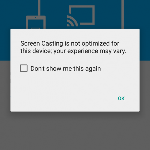 Chromecast app gets guest mode, Material Design UI, beta screen casting
