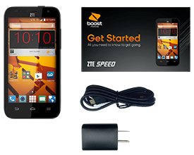 The ZTE Speed by Boost Mobile