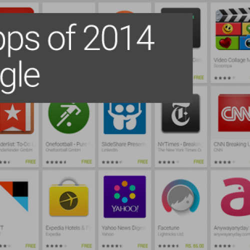 Best Apps of 2014 by Google