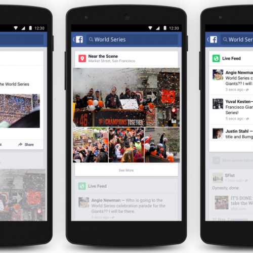 Facebook brings Trending to mobile apps