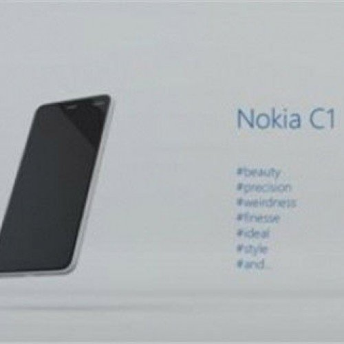 Nokia may release the Nokia C1 Android smartphone in 2015