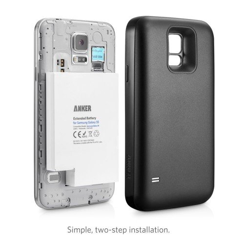 Galaxy S5 extended battery + cover, $39.99