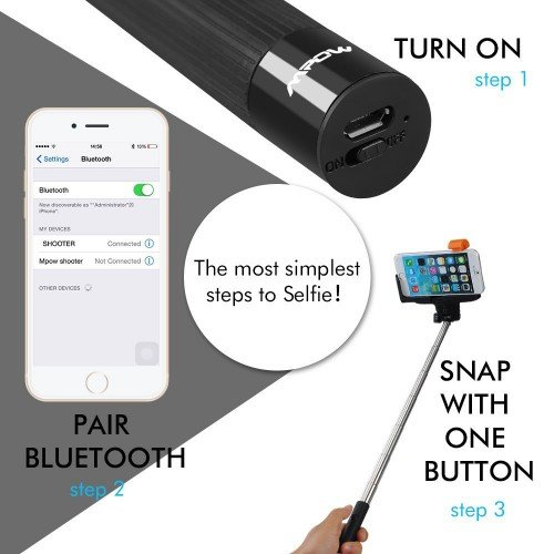 Accessory of the Day: Bluetooth-equipped selfie stick, $19.99