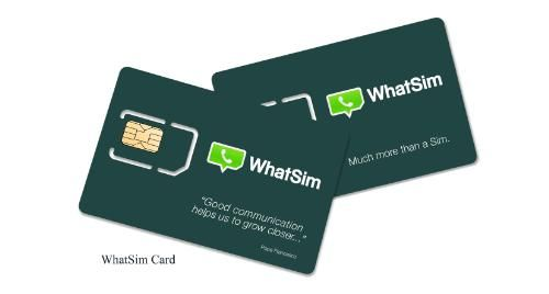 WhatSim is Here! The First WhatsApp Sim That Makes You Chat With WhatsApp Absolutely Free of Charge and With No Limits. Even Without Wi-Fi Connection