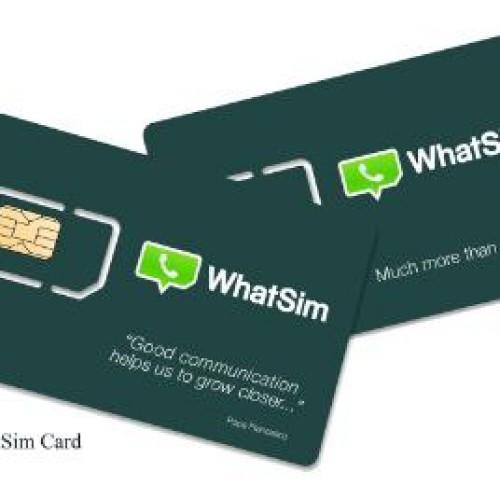 WhatsApp announces WhatSIM that doesn't require data plans