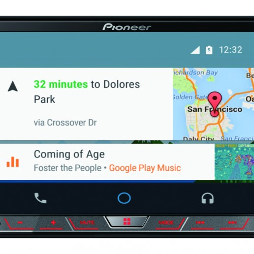 Android Auto experience at CES 2015