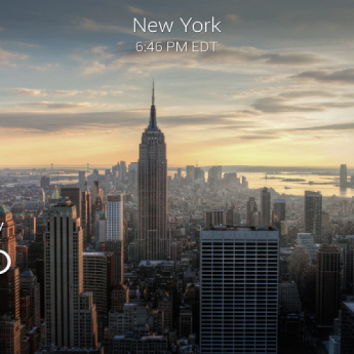 Yahoo Weather update brings animated effects to already great app.