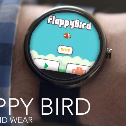 You can now play Flappy Bird on your Android Wear smartwatch, if you want! [APK Download]