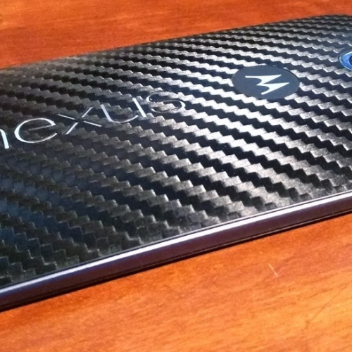 This is what the Nexus 6 would have looked like with a fingerprint sensor