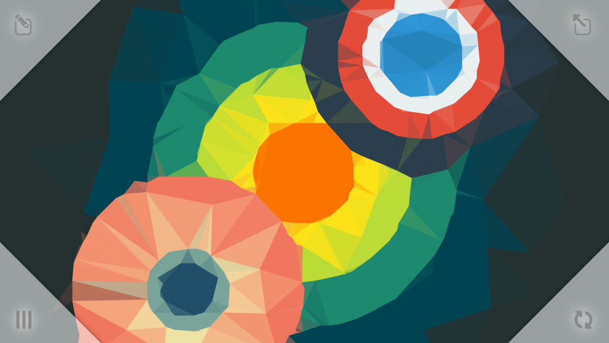 create your own polygon wallpapers with polygen app of