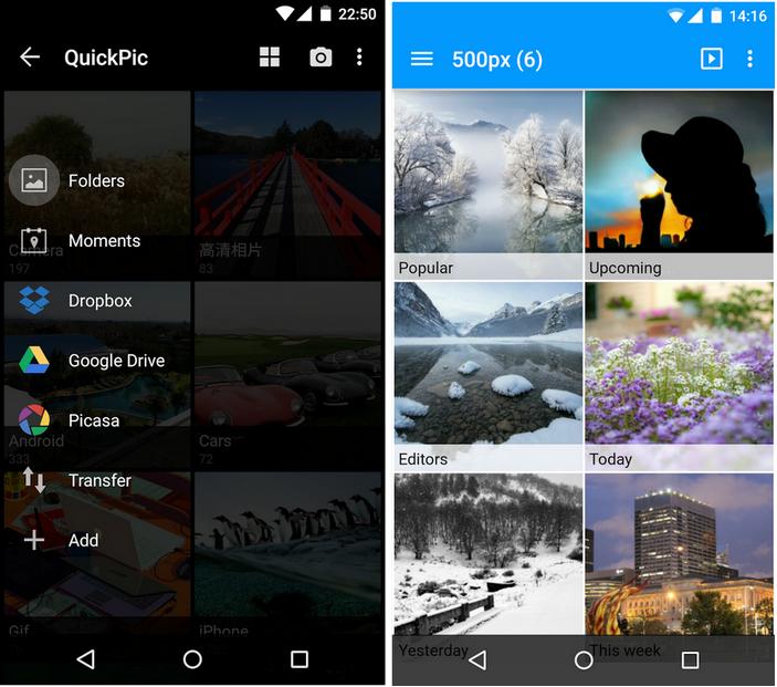 The best alternative photo gallery apps