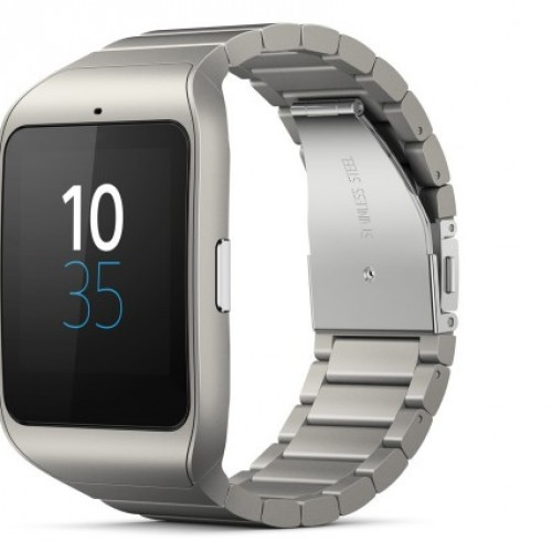 Sony unveils a stainless steel SmartWatch 3
