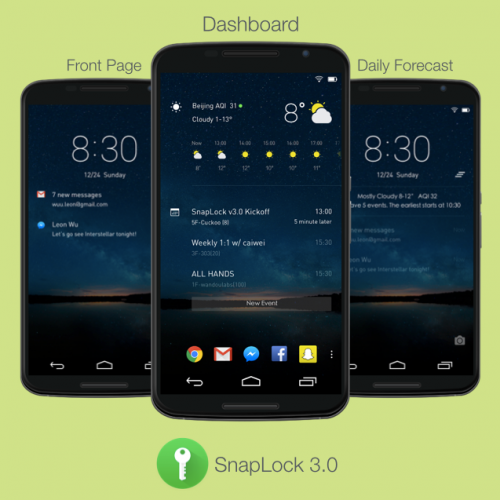 Snaplock v3.0 ready to roll