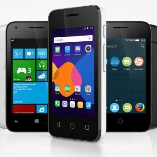 Alcatel Pixi 3 series runs Android, Windows or FireFox OS