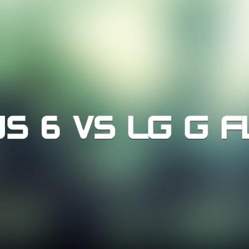LG G Flex 2 vs Nexus 6