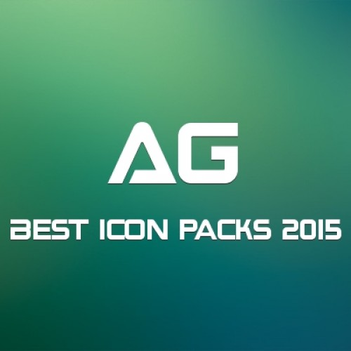 Download the best icon packs of 2015