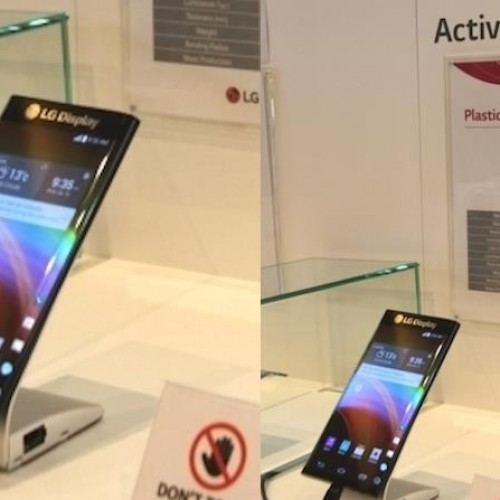 "LG shows off ""Active Bending"" Dual Edge display"