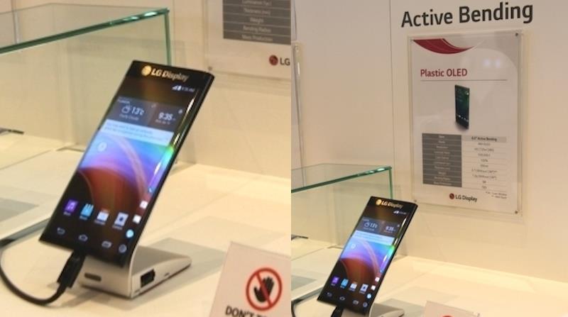 "LG ""Active Bending"" Dual Edge Display"