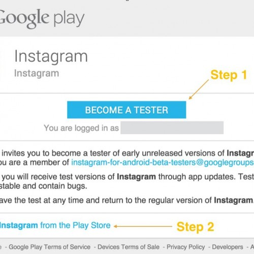Instagram beta lets Android users test future features