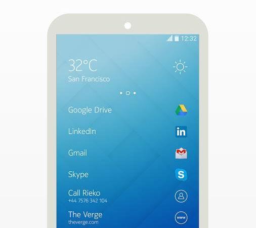 Nokia's Z Launcher
