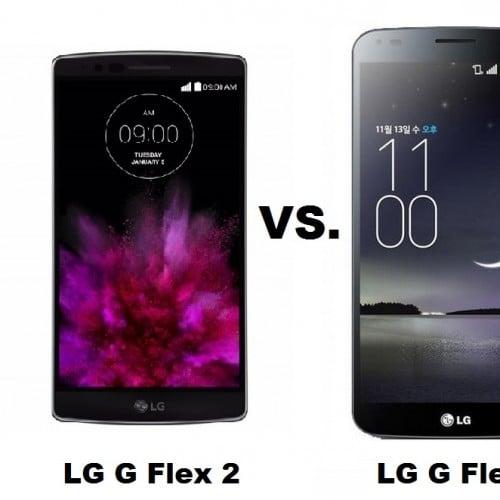LG G Flex 2 vs. LG G Flex