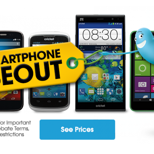 Cricket Wireless closeout sale cuts prices on select Android phones
