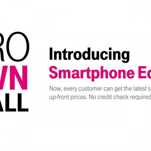 T-Mobile's Smartphone Equality levels playing for field for all credit scores